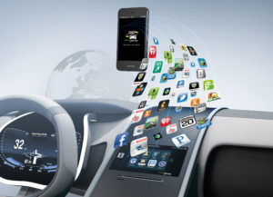 Bosch connected car