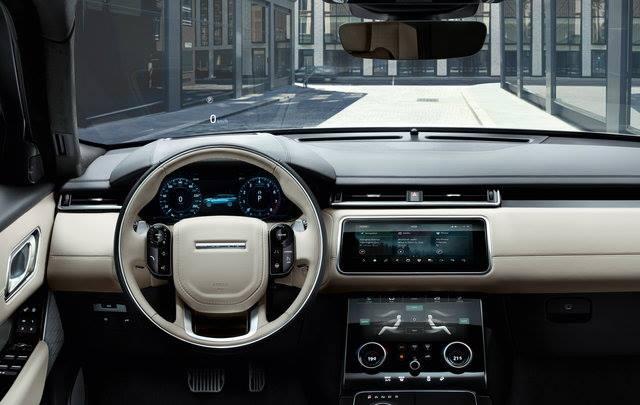 Sistema multimediale, Range Rover Velar, plancia