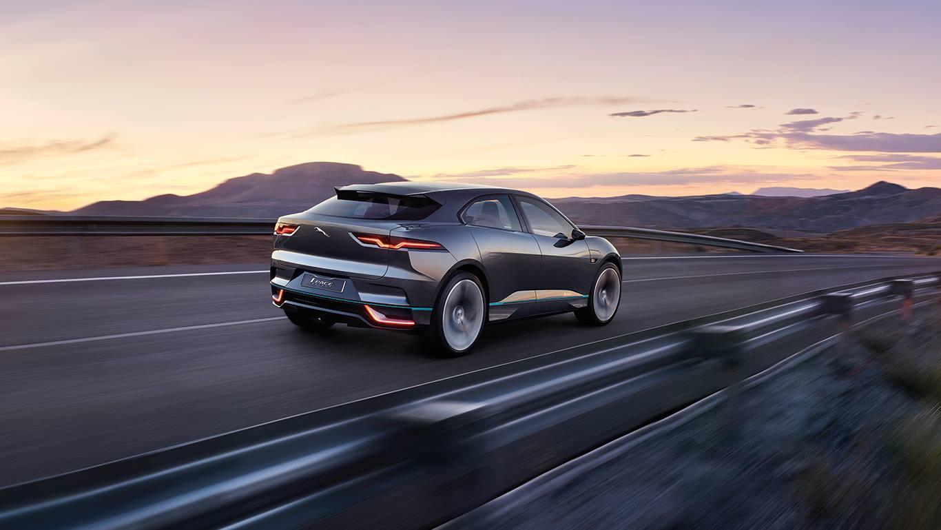 Jaguar I-Pace, Suv. elettrico