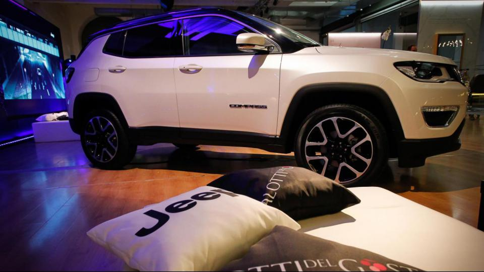 Milano Design Week, Jeep Compass, modello 2017