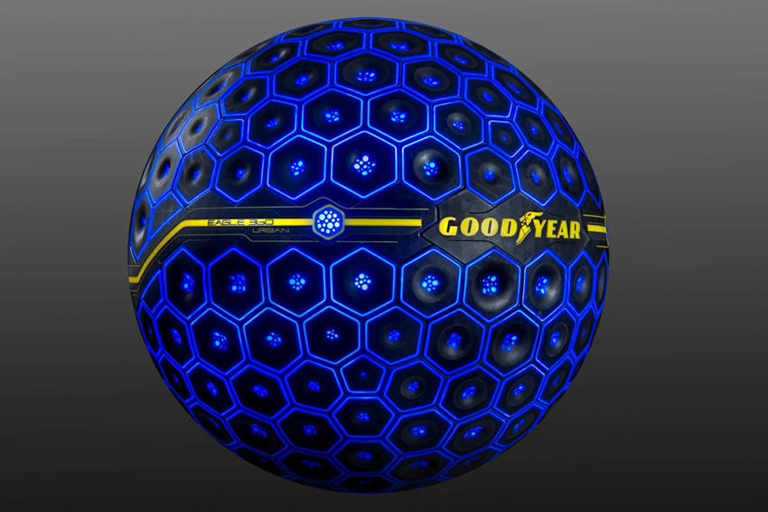 Goodyear, pneumatici, sfera