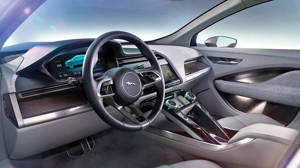 Interni Jaguar I-Pace