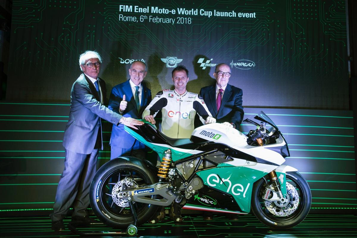 FIM ENEL MOTO-E WORLD CUP E PRESENTAZIONE MOTO EGO-GP