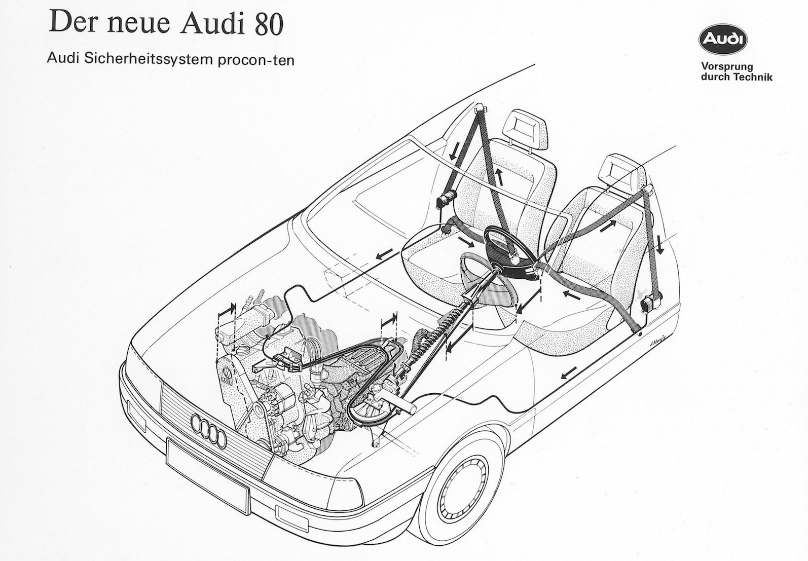 Audi Safety-system Procon-ten